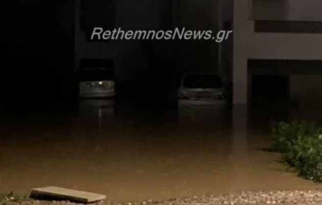 Εκκενώνεται ο Πλατανιάς Ρεθύμνου – Απειλούνται οι κάτοικοι από το πλημμυρισμένο ποτάμι