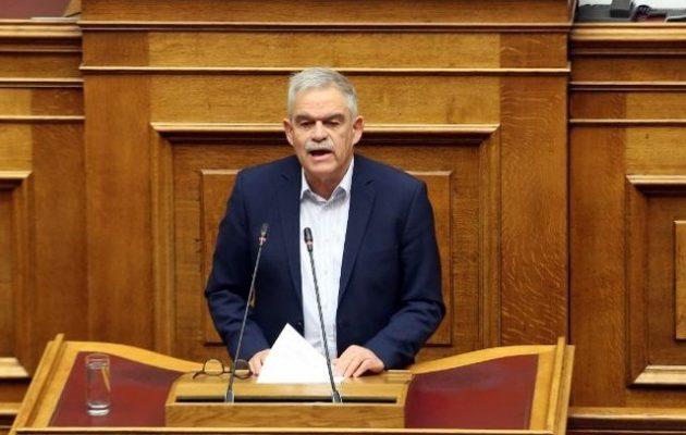 Νίκος Τόσκας: Θέλετε το βόρειο γείτονα σύμμαχο της Τουρκίας; Θέλετε να διαμελιστεί μεταξύ Αλβανίας και Βουλγαρίας;