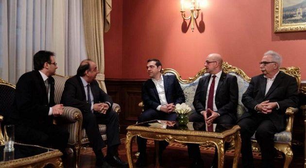 Ο Τσίπρας συνάντησε εκπροσώπους της ελληνικής Ομογένειας στην Κωνσταντινούπολη