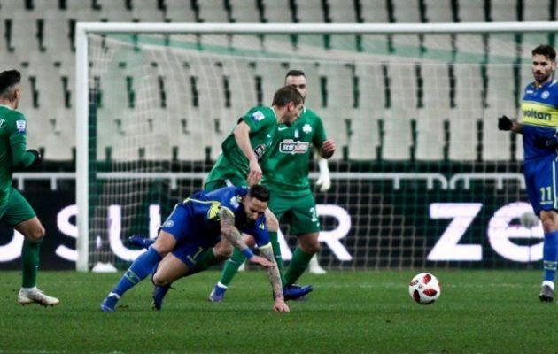 Επέστρεψε στις νίκες ο Παναθηναϊκός 1-0 τον Αστέρα Τρίπολης