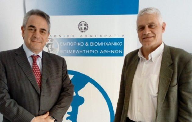 Τα προβλήματα των επιχειρήσεων της Αθήνας συζήτησαν Μίχαλος και Τσιρώνης