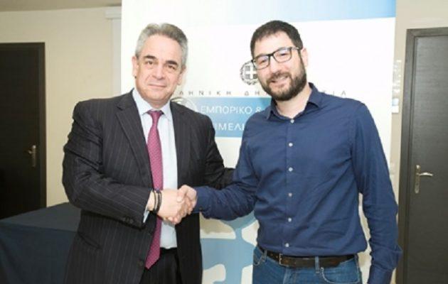 Τι συζήτησαν Μίχαλος και Ηλιόπουλος για το μέλλον της Αθήνας
