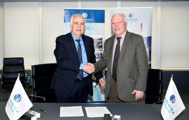 ΕΛΠΕ και Πανεπιστήμιο Δυτικής Αττικής υπέγραψαν τριετή στρατηγική συνεργασία