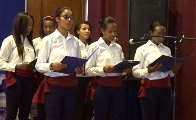 Τραγούδια για την 25η Μαρτίου είπαν οι μαθήτριες των ελληνικών σχολείων στην Αιθιοπία
