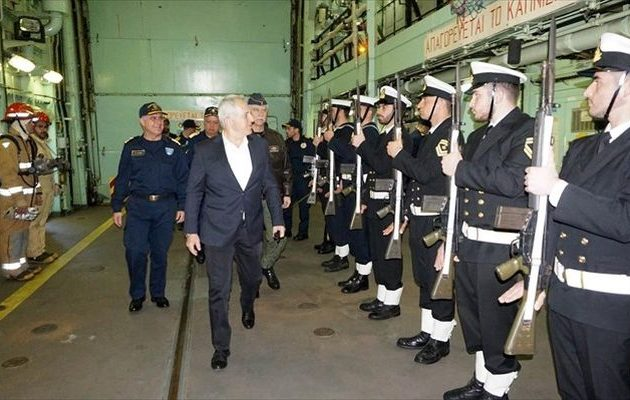 Ευάγγελος Αποστολάκης: «Είμαστε πυλώνας σταθερότητας και εγγυητής της ασφάλειας»