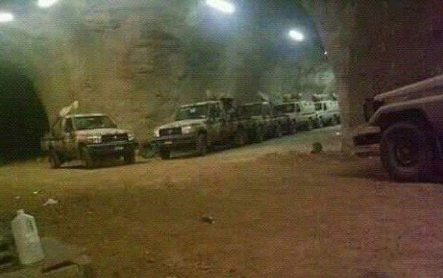 Οι Κούρδοι (SDF) κατέλαβαν υπόγειο γκαράζ -οπλοστάσιο του Ισλαμικού Κράτους στη Μπαγούζ (φωτο)