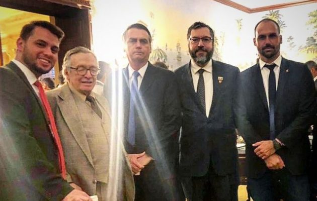 Στην Ουάσιγκτον ο Ζαΐχ Μπολσονάρου – Την Τρίτη η συνάντηση με Τραμπ