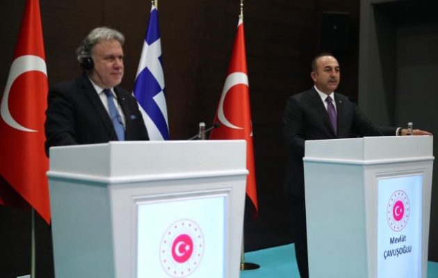 Ο Τσαβούσογλου αναφέρθηκε σε «πλατφόρμα για επίλυση των διαφορών στο Αιγαίο»
