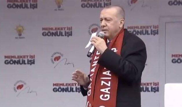 Βρήκε ευκαιρία για «κλάψα» ο Ερντογάν επειδή ο μακελάρης Τάραντ δηλώνει «τουρκοφάγος»
