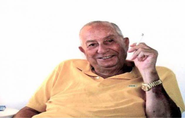 Πέθανε στα 97 του ο «βασιλιάς της ομορφιάς» Γιάννης Πατίστας