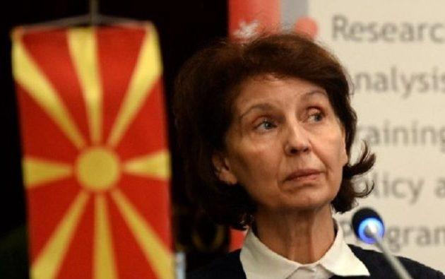 «Βόρεια Μακεδονία δεν θα μας πω ποτέ» δήλωσε η Σιλιάνοφσκα