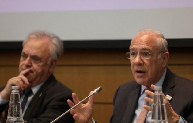 Άνχελ Γκουρία: «Η Ελλάδα είναι στον σωστό δρόμο»