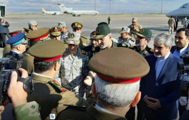 Ο Α/ΓΕΕΘΑ του Ιράν εκτάκτως στη Συρία με τον στρατηγό Σολεϊμανί