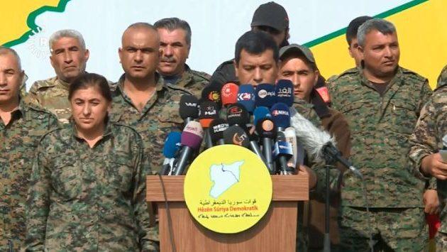 Οι Συριακές Δημοκρατικές Δυνάμεις (SDF) κάλεσαν την Τουρκία να φύγει από τη Συρία