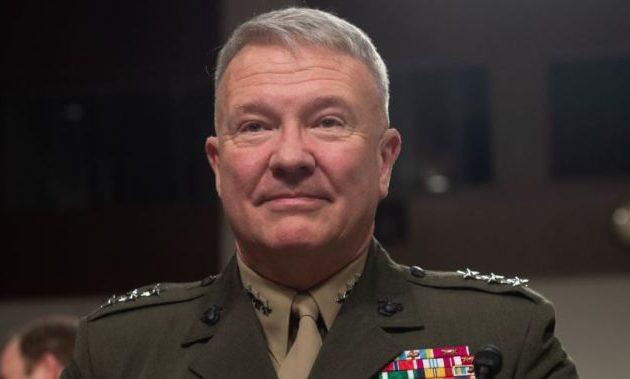 Ο στρατηγός Μακένζι επικεφαλής των εκστρατειών των ΗΠΑ στη Μέση Ανατολή