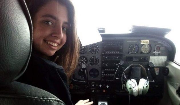 17χρονη έκανε πτήση με αεροπλάνο και συγκίνησε τους πάντες (βίντεο)
