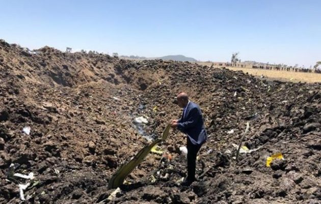 Συλλυπητήρια Παυλόπουλου στην Πρόεδρο της Αιθιοπίας για την αεροπορική τραγωδία