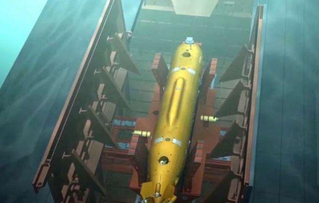 Το μεγαλύτερο υποβρύχιο στον κόσμο «Belgorod» θα είναι εξοπλισμένο με έξι ντρον «Poseidon»