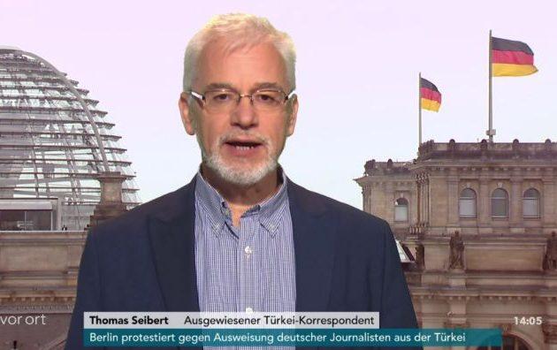 Τόμας Ζάιμπερτ: «Στόχος του Ερντογάν να θέσει υπό έλεγχο τους ξένους δημοσιογράφους»