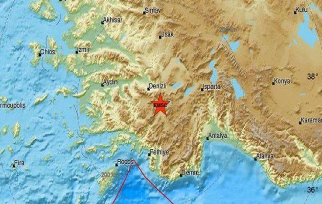 Σεισμός 4,9 Ρίχτερ στην Τουρκία ταρακούνησε και τα Δωδεκάνησα