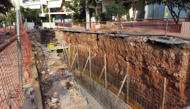 Ολοκληρώθηκε το αντιπλημμυρικό στην Τερψιθέα – Καπάταης: «Θωρακίζουμε την Αττική»