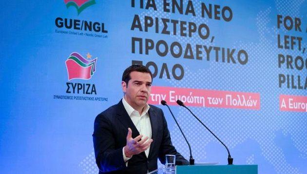 Τσίπρας: Η Αριστερά έχει στρατηγική – Bγάλαμε τη χώρα από την κρίση με την κοινωνία όρθια