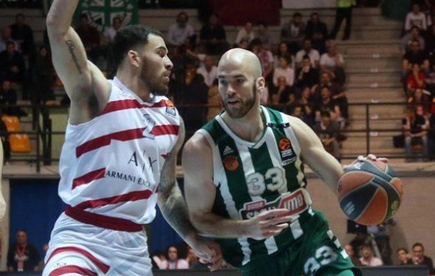 Euroleague: Ο Παναθηναϊκός νίκησε την Αρμάνι και πάει για «8αδα»