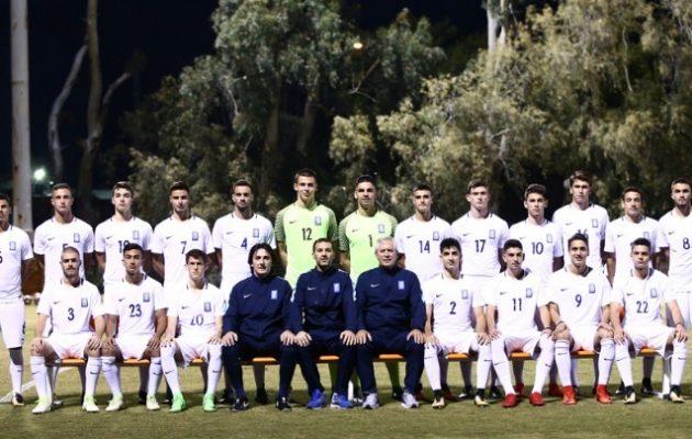 Ιστορική νίκη της Εθνικής Νέων 2-1 την Αγγλία
