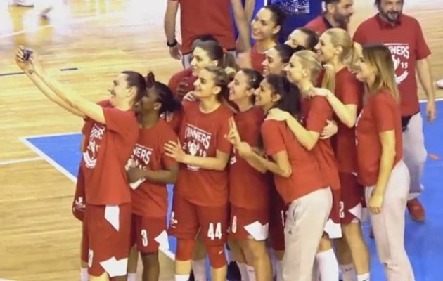 Τέταρτη σερί «κούπα» για τα κορίτσια του Ολυμπιακού στο μπάσκετ
