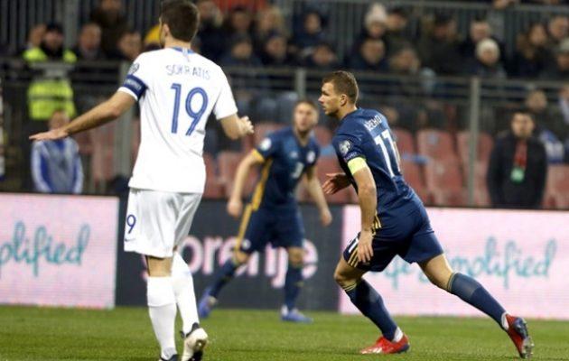EURO 2020: Η Εθνική Ελλάδος πήρε την ισοπαλία 2-2 μέσα στη Βοσνία