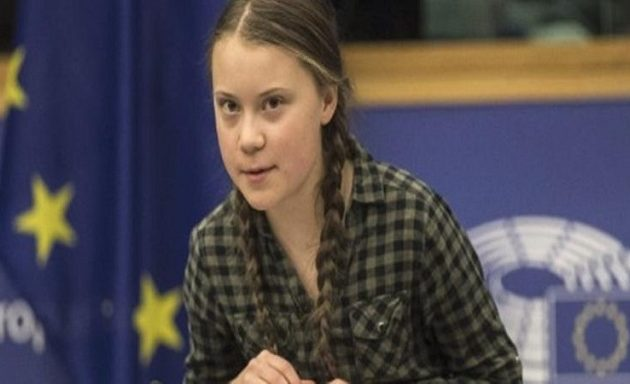 Συγκλόνισε την Ευρωβουλή η 16χρονη μαθήτρια μιλώντας για το κλίμα (βίντεο)
