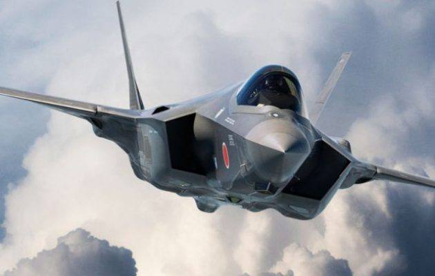 Συνετρίβη ιαπωνικό F-35 πάνω από τον Ειρηνικό – Αγνοείται ο πιλότος