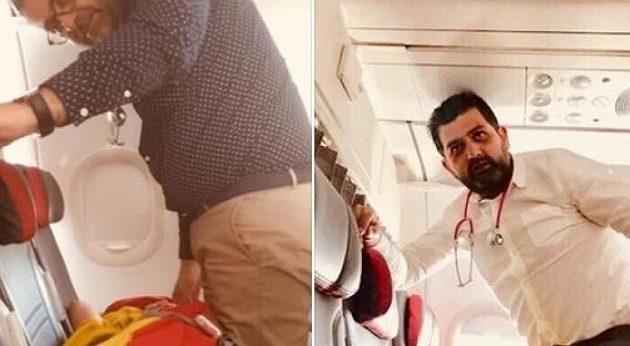 Έλληνες γιατροί έσωσαν Ελβετίδα που έπαθε έμφραγμα στο αεροπλάνο
