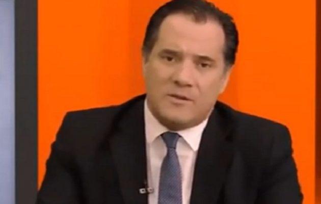 ΣΥΡΙΖΑ για Άδωνι και «να πέσουν οι κομμουνιστές»: Σε ακροδεξιό παραλήρημα ο αντιπρόεδρος