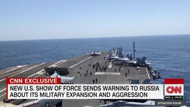 Δύο αμερικανικά αεροπλανοφόρα στη Μεσόγειο – Οι ΗΠΑ δηλώνουν ισχύ