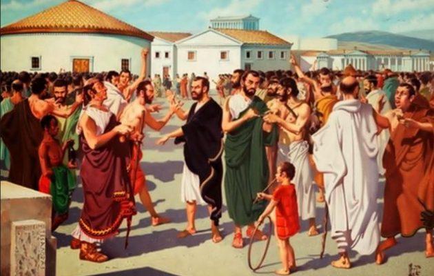 Ο Νίκος Κοτζιάς γράφει για τους δημαγωγούς και τους συμμάχους στην Αθήνα του 5ου αιώνα π.Χ.
