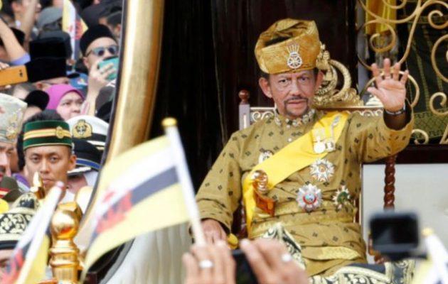 Από σήμερα στο Μπρουνέι ομοφυλόφιλοι και μοιχοί εκτελούνται με λιθοβολισμό