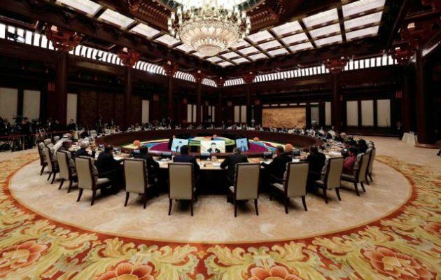 Τι είπε ο Αλέξης Τσίπρας στη «Στρογγυλή Τράπεζα» των ηγετών στο Πεκίνο