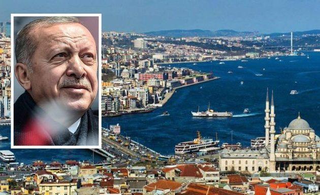 Επικίνδυνα παιχνίδια Ερντογάν με την Κωνσταντινούπολη