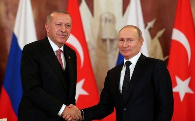 Ο Ερντογάν θα μιλήσει τηλεφωνικά με τον Πούτιν για τη Λιβύη