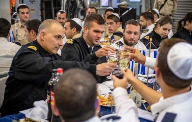 Noble Dina 2019: Έλληνες και Ισραηλινοί ναυτικοί τσουγκρίζουν στην ισχυρή συμμαχία μας