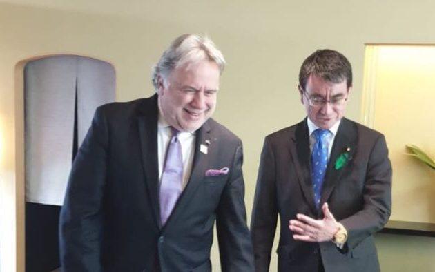 Στην Ιαπωνία ο Κατρούγκαλος για την ενίσχυση της διμερούς συνεργασίας