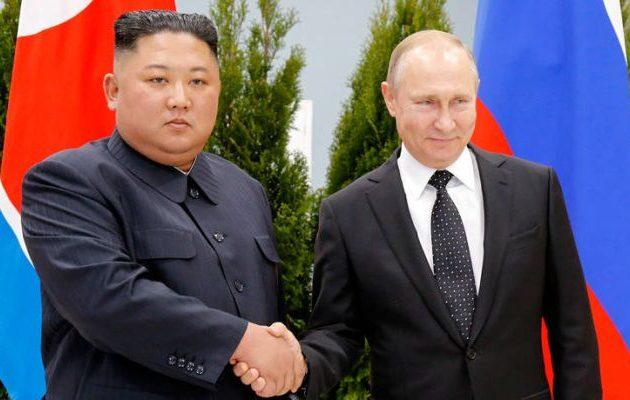 Ο Κιμ παραπονέθηκε στον Πούτιν για τους Αμερικανούς – Ζήτησε «πιο σταθερή και στέρεη σχέση»