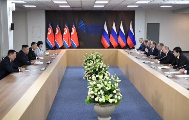 Ο Πούτιν συμπέρανε ότι η Βόρεια Κορέα είναι «θύμα» του «δικαίου του ισχυρότερου»