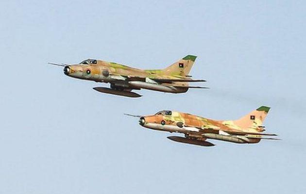 Οκτώ μαχητικά σοβιετικής κατασκευής πέταξαν από τη Συρία στη Λιβύη να ενισχύσουν τον Χαφτάρ