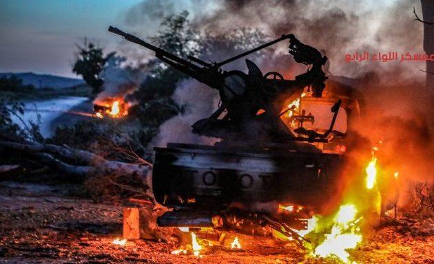 Μάχες μεταξύ Λιβυκού Εθνικού Στρατού και ισλαμικής κυβέρνησης στα περίχωρα της Τρίπολης