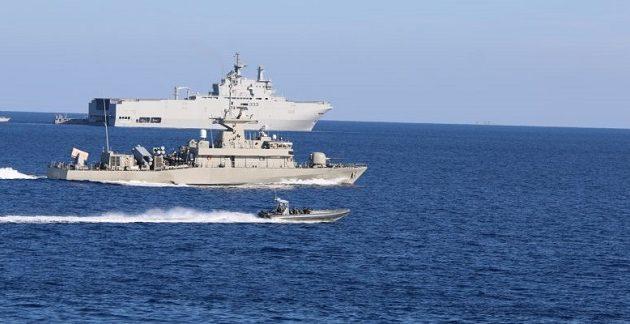 Ελλάδα, Κύπρος, Αίγυπτος στέλνουν μήνυμα ισχύος στην Τουρκία με την «Μέδουσα 8»