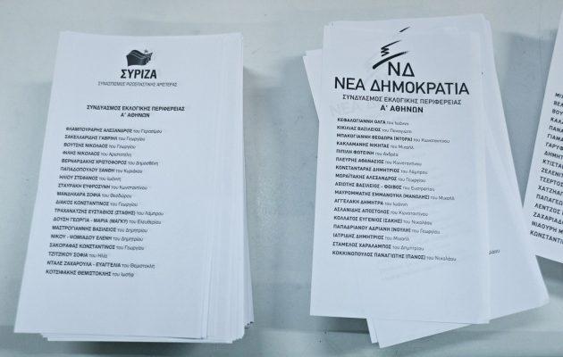 Δημοσκόπηση: Κλείσιμο ρεκόρ στην «ψαλίδα» ΝΔ – ΣΥΡΙΖΑ – Ο ρόλος των αναποφάσιστων