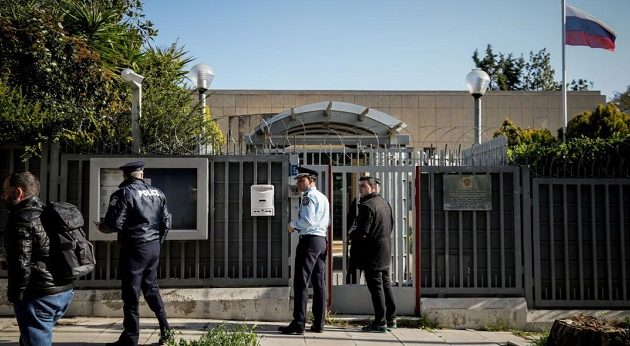 Ανάληψη ευθύνης για την επίθεση με χειροβομβίδα στο ρωσικό προξενείο στο Χαλάνδρι