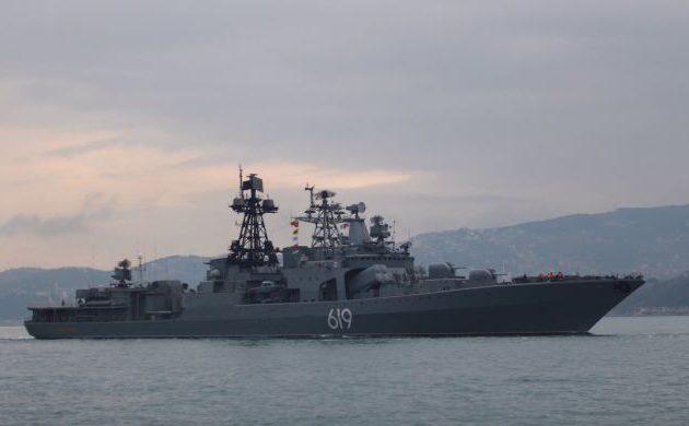 Με άσκηση στα χωρικά ύδατα της Συρίας «απάντησε» το ρωσικό ναυτικό στα δύο αεροπλανοφόρα